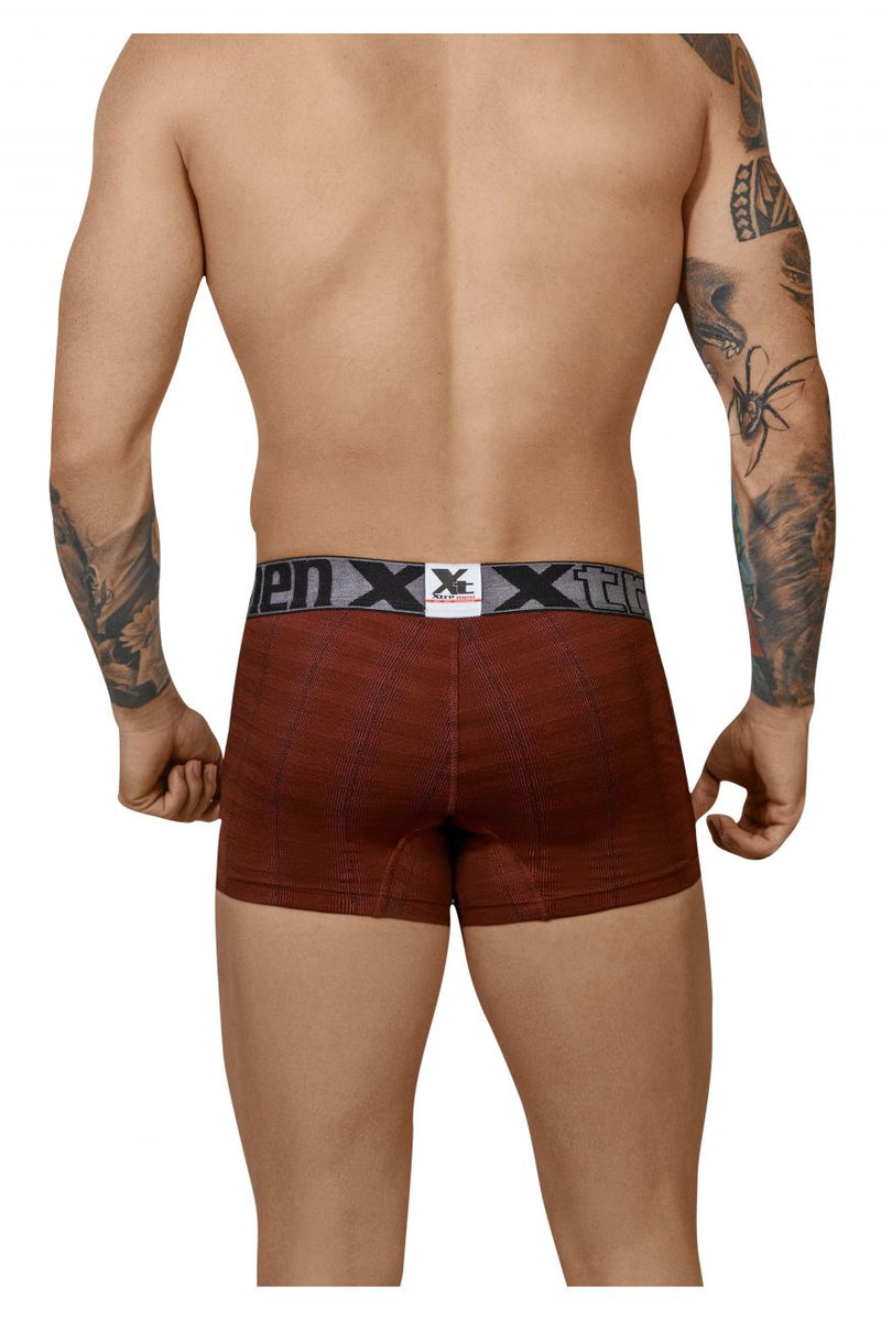Xtremen 51451C Geometric Jacquard Trunk Color Red