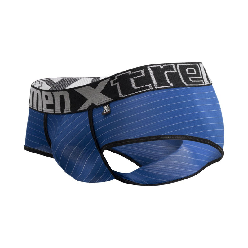 Xtremen 91029 Stripes Briefs Color Blue