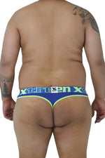 Xtremen 91031X Piping Thongs Color Blue
