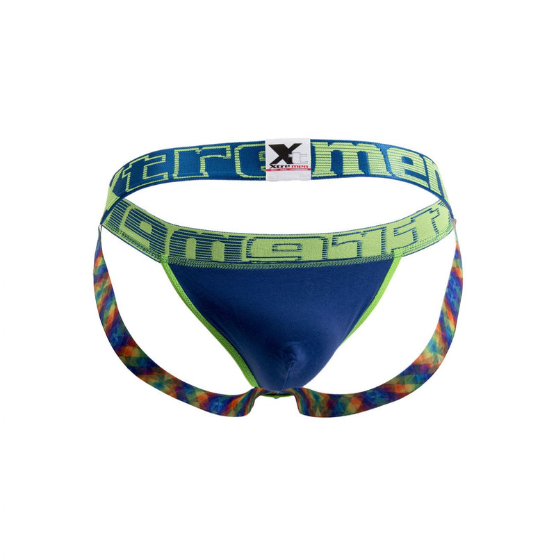 Xtremen 91033 Butt lifter Jockstrap Color Blue