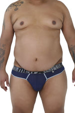 Xtremen 91036X Mesh Thongs Color Dark Blue