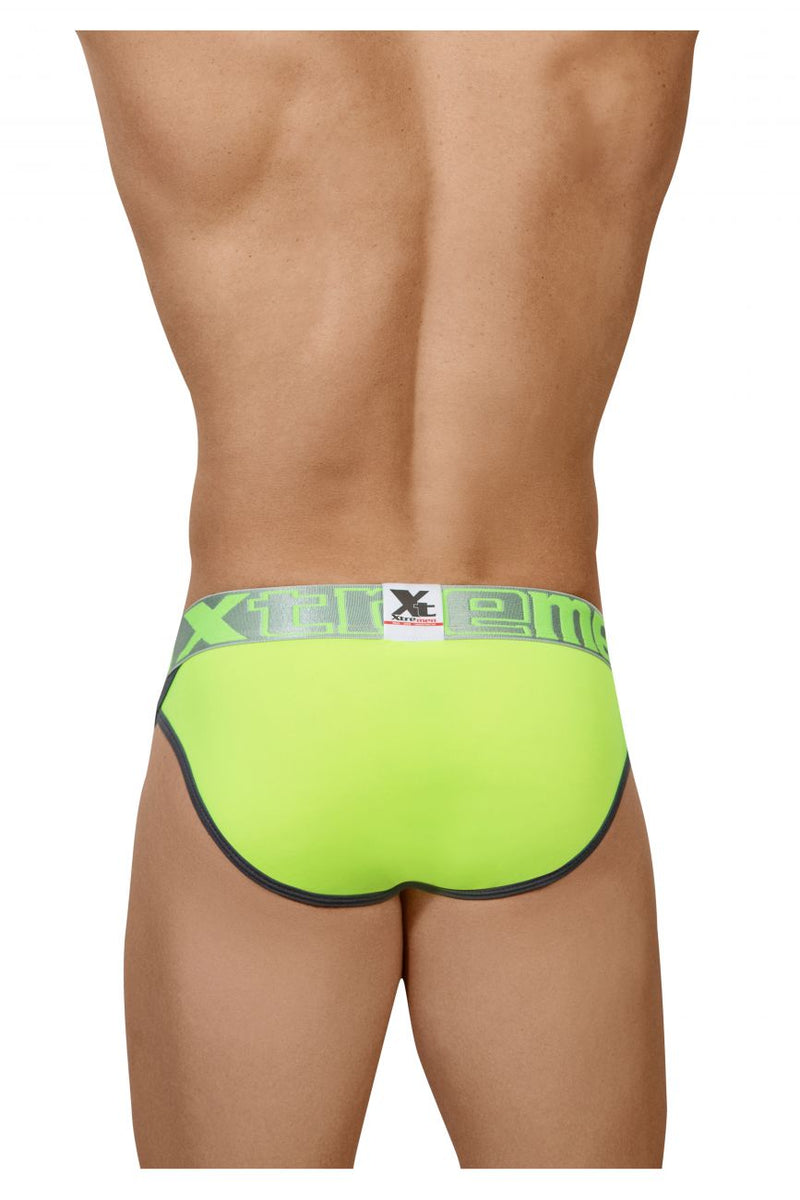 Xtremen 91053 Piping Bikini Color Green