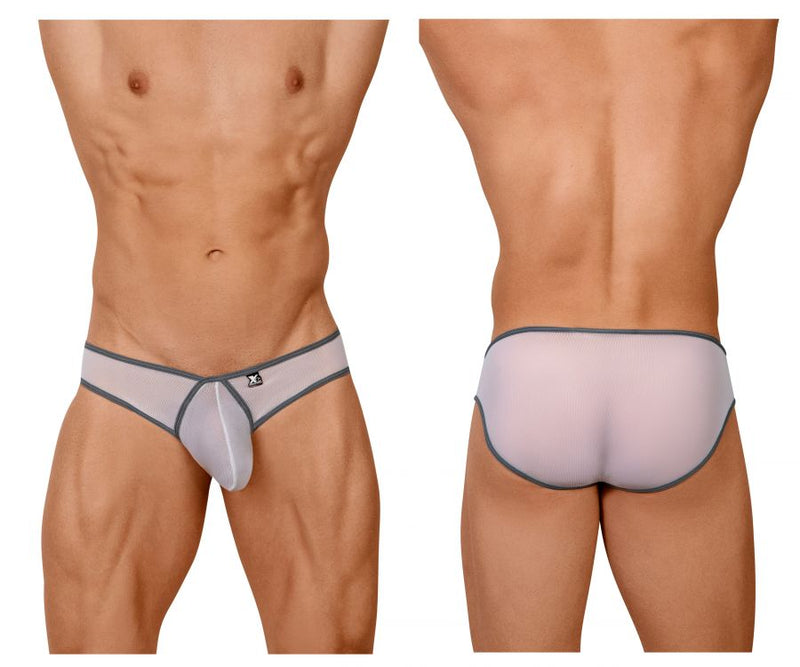 Xtremen 91058 Big Pouch Mesh Briefs Color White