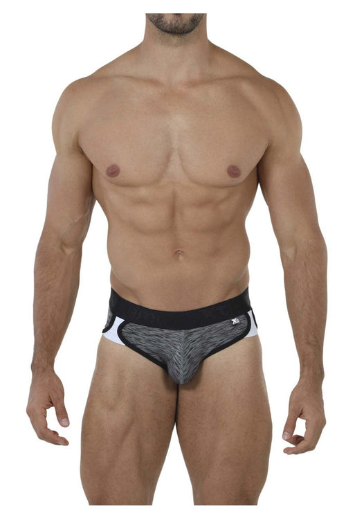 Xtremen 91071 Microfiber Sports Briefs Color Black