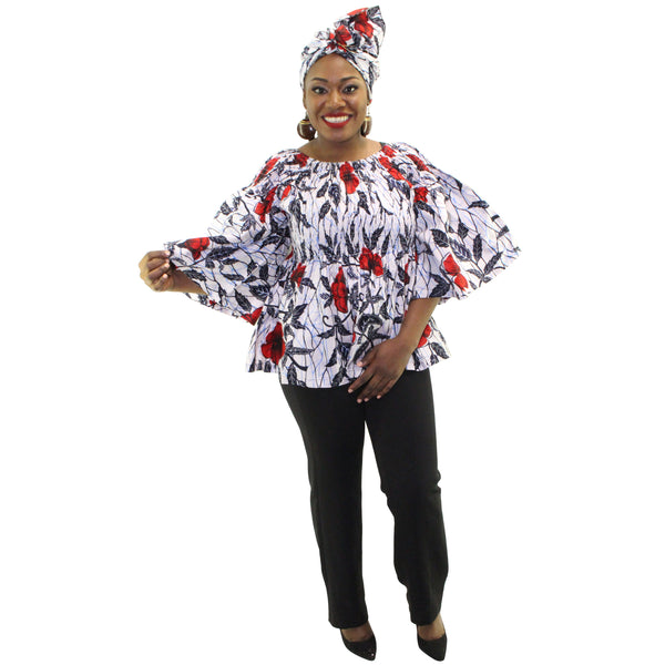 Women's Tops A-line Tunic - FI-2039