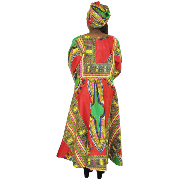 Women's Dashiki Dress - FI-3040