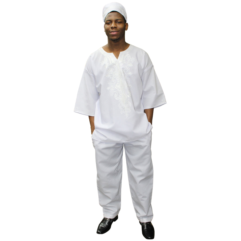 Men's Short Sleeve 3 Piece Set - FI-20075