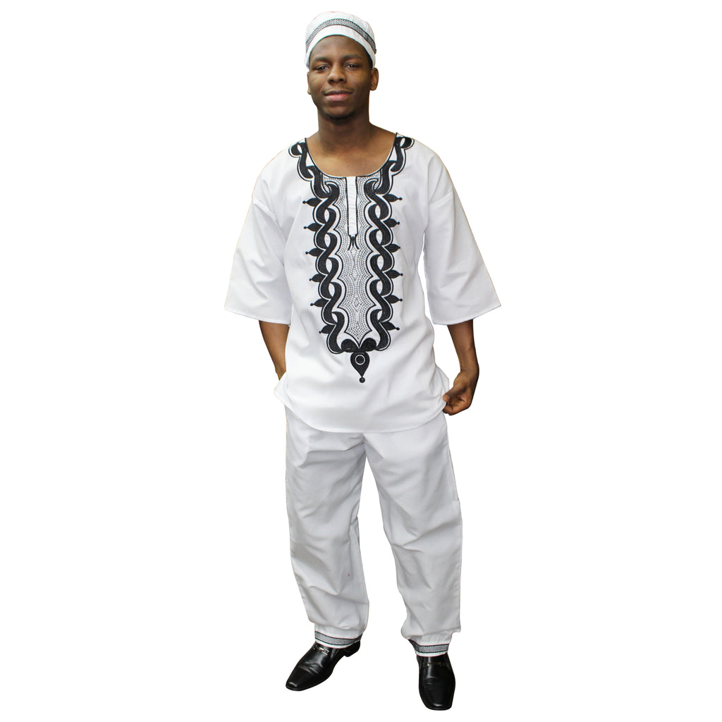 Men's Short Sleeves 3 Piece - FI-20073