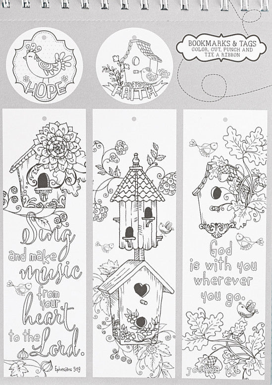 Coloring book the word in color crossroads estore for Debbie macomber coloring book pages