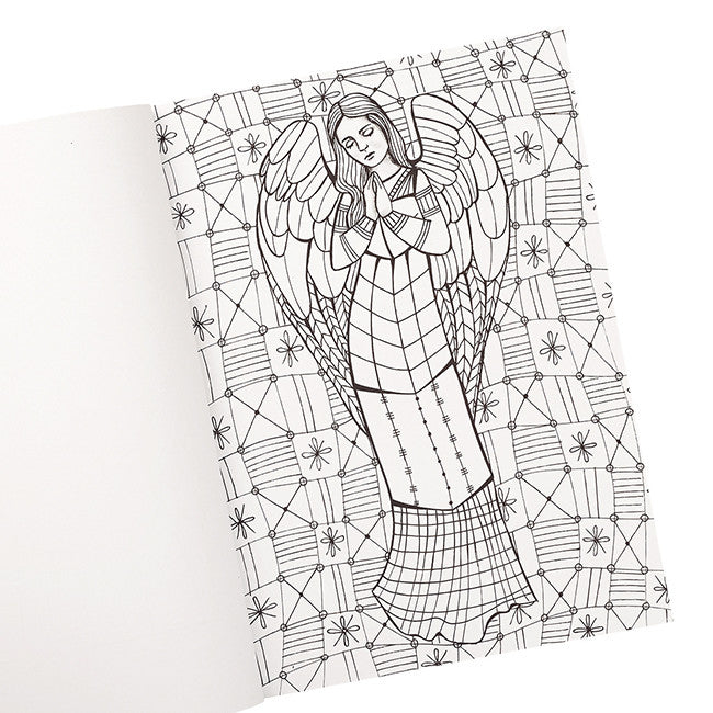 Coloring Book The Gift Of Angels - Crossroads eStore