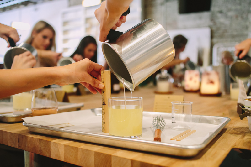 Charleston April 2020 BYOB Scented Candle Making Workshop