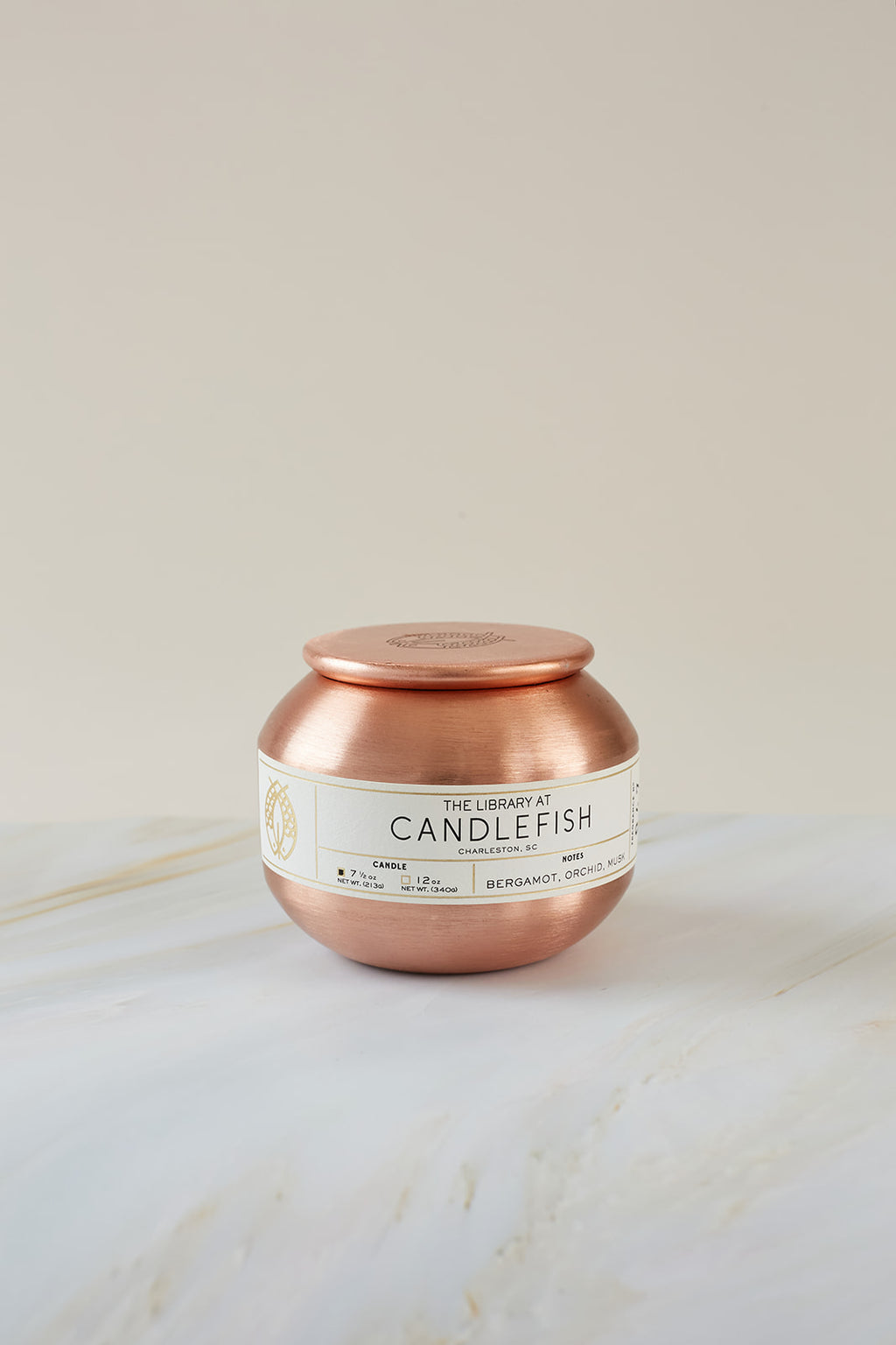 Candlefish No. 70 Copper Tin