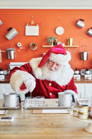 BYOB Adult Candle Making with Santa