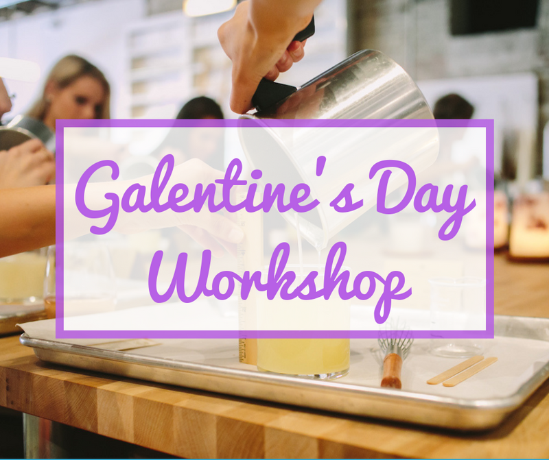 Atlanta 2020 Galentine's Day Candle Making Workshop