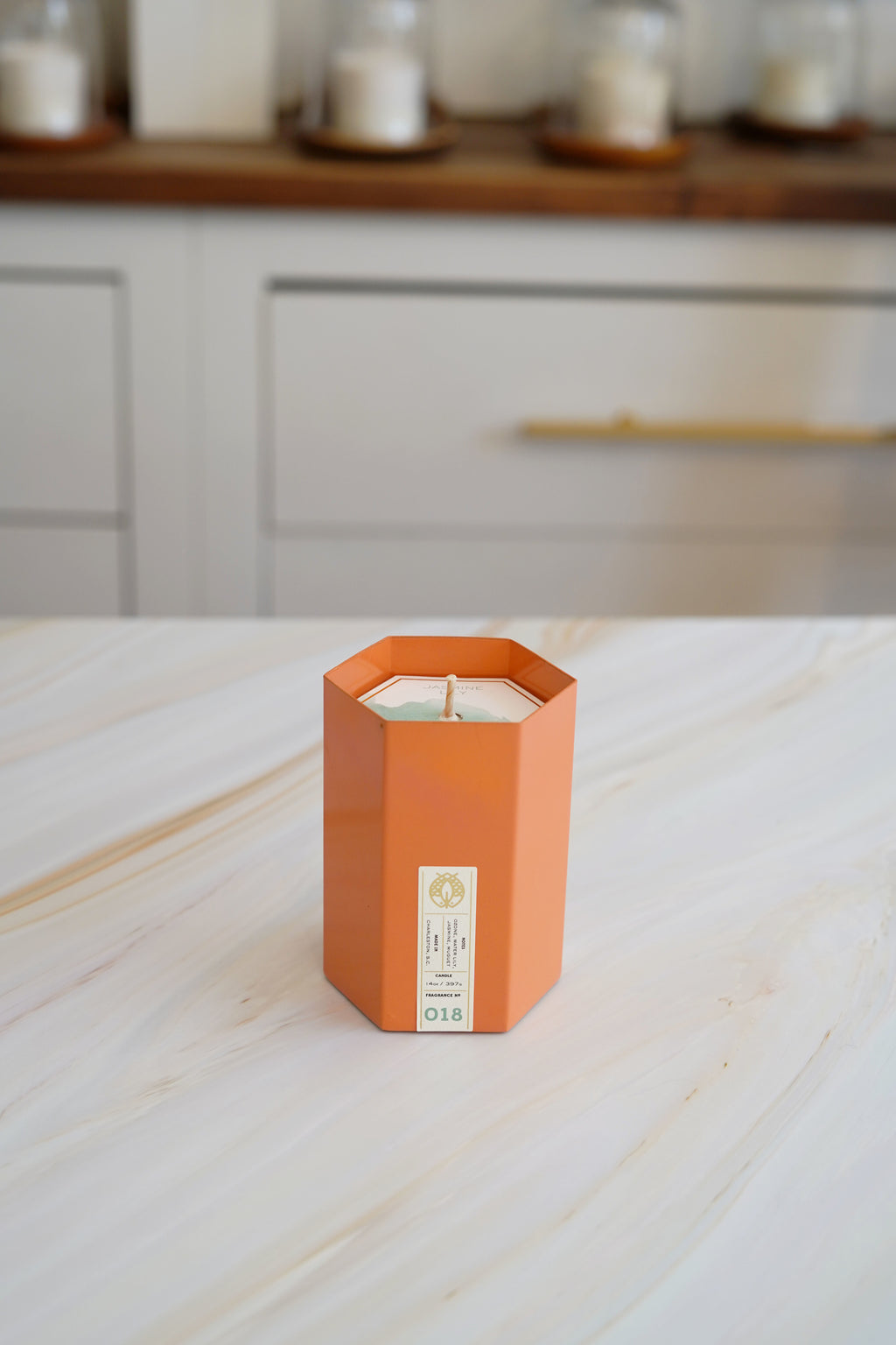 Candlefish No. 18 Hexagon Candle