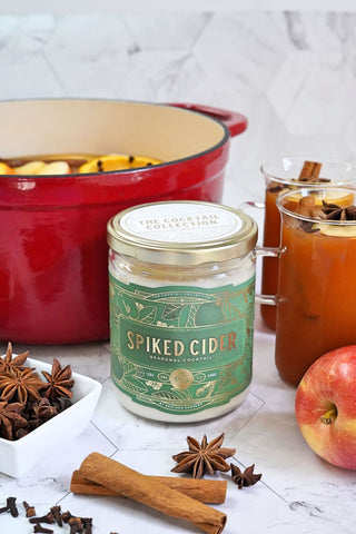Spiked Cider Large Bowl Barrel Aged Candle