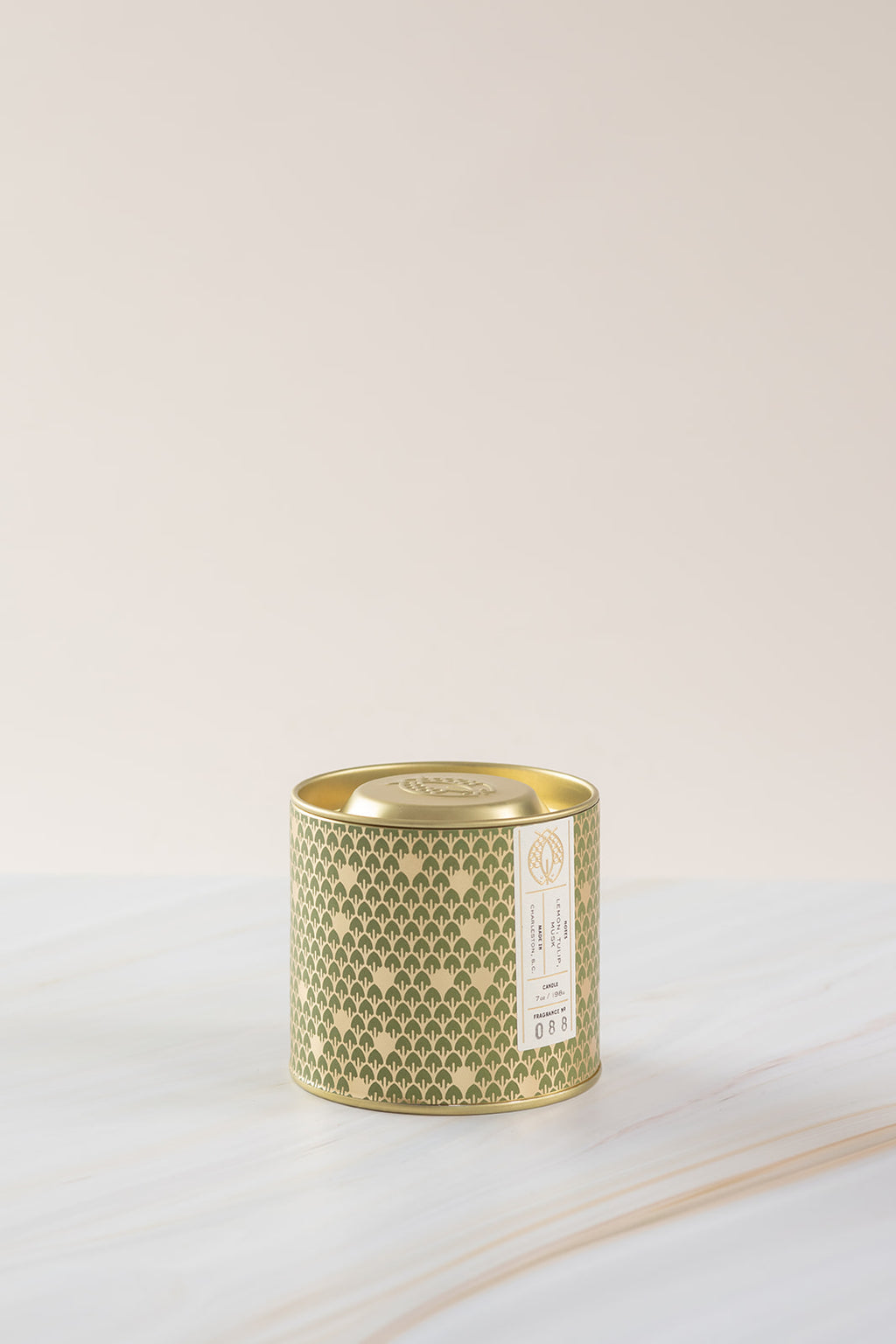 Candlefish No. 88 Gold 7oz Tin with Embossed Lid