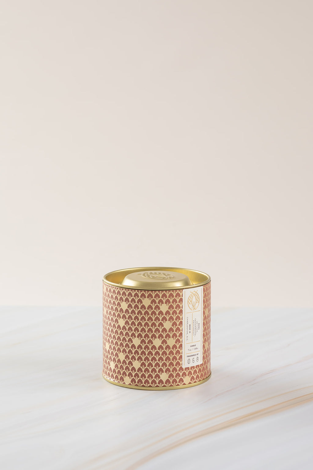 Candlefish No. 68 Gold 7oz Tin with Embossed Lid