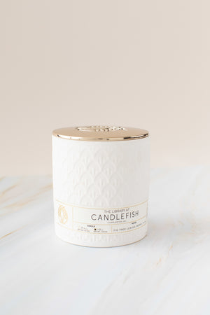 Candlefish No. 31 Debossed Ceramic Candle