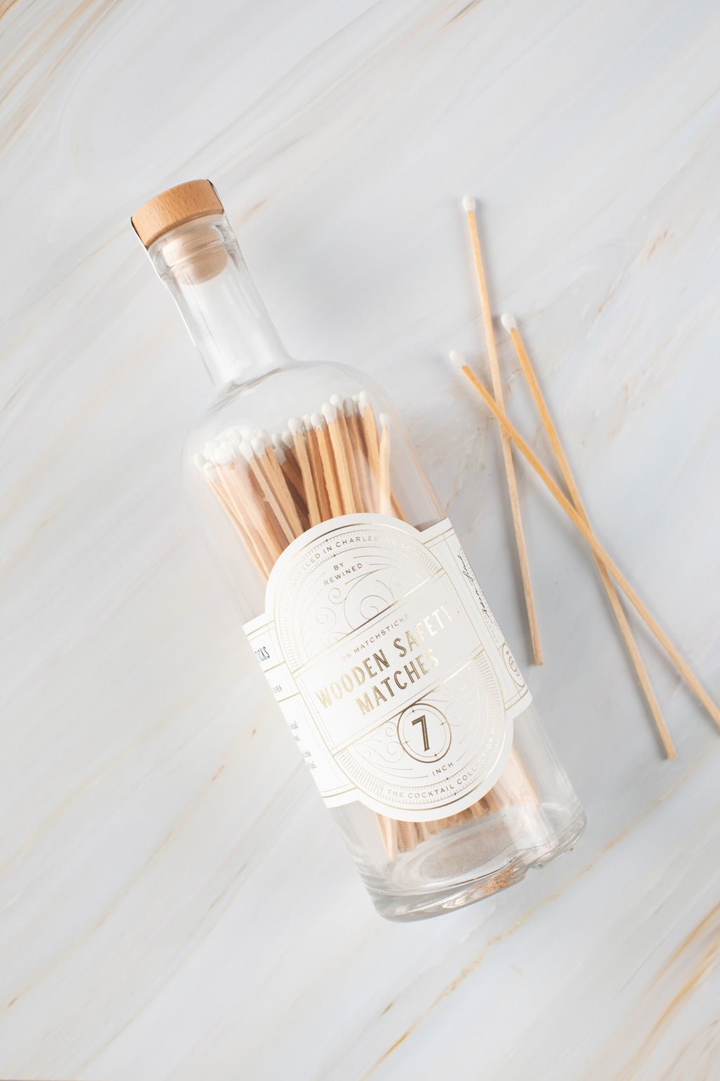 "7"" Matchsticks Bottle"