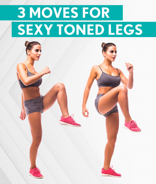 3 Moves for Sexy, Toned Legs