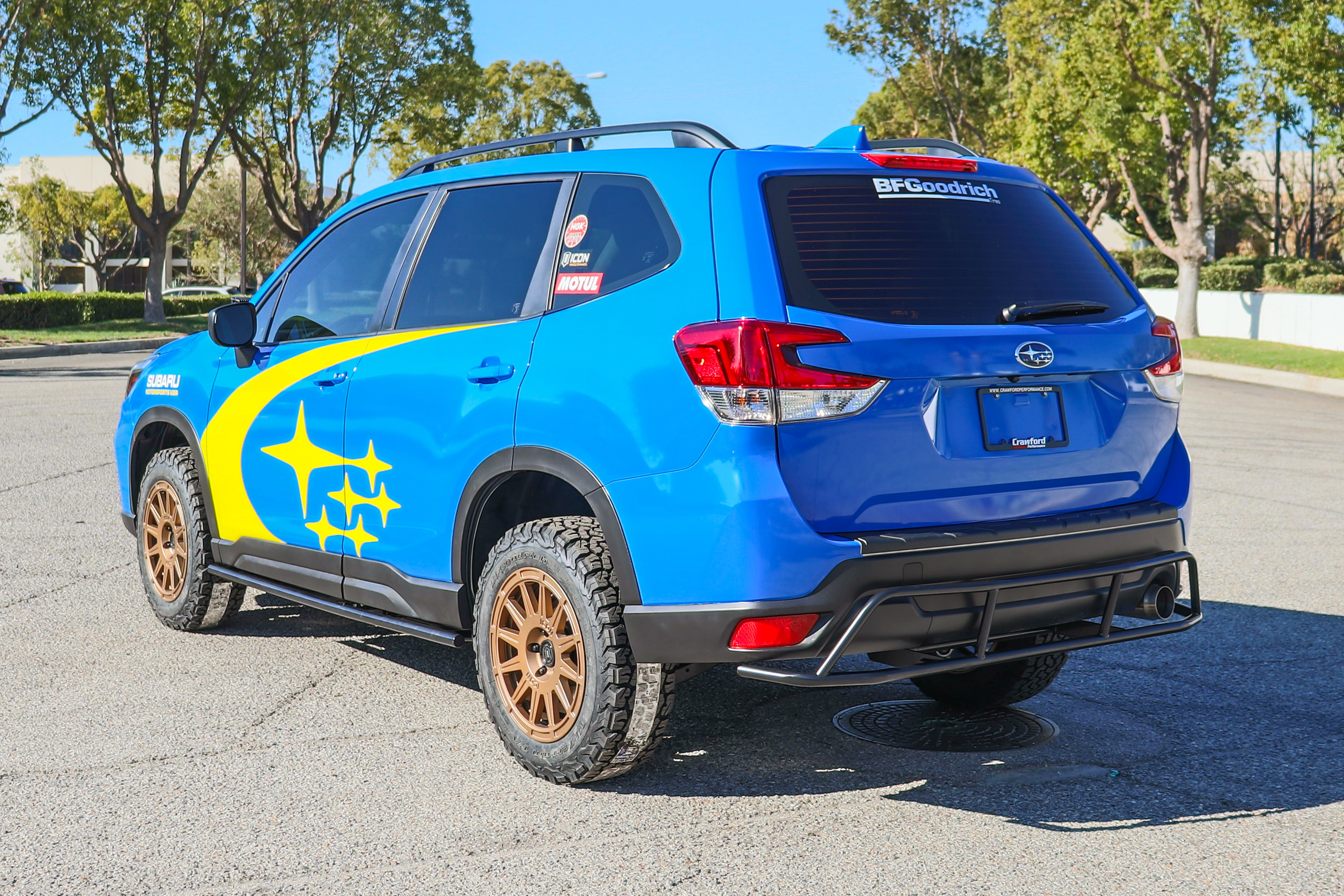 Crawford Performance Built Offroad Subaru Forester