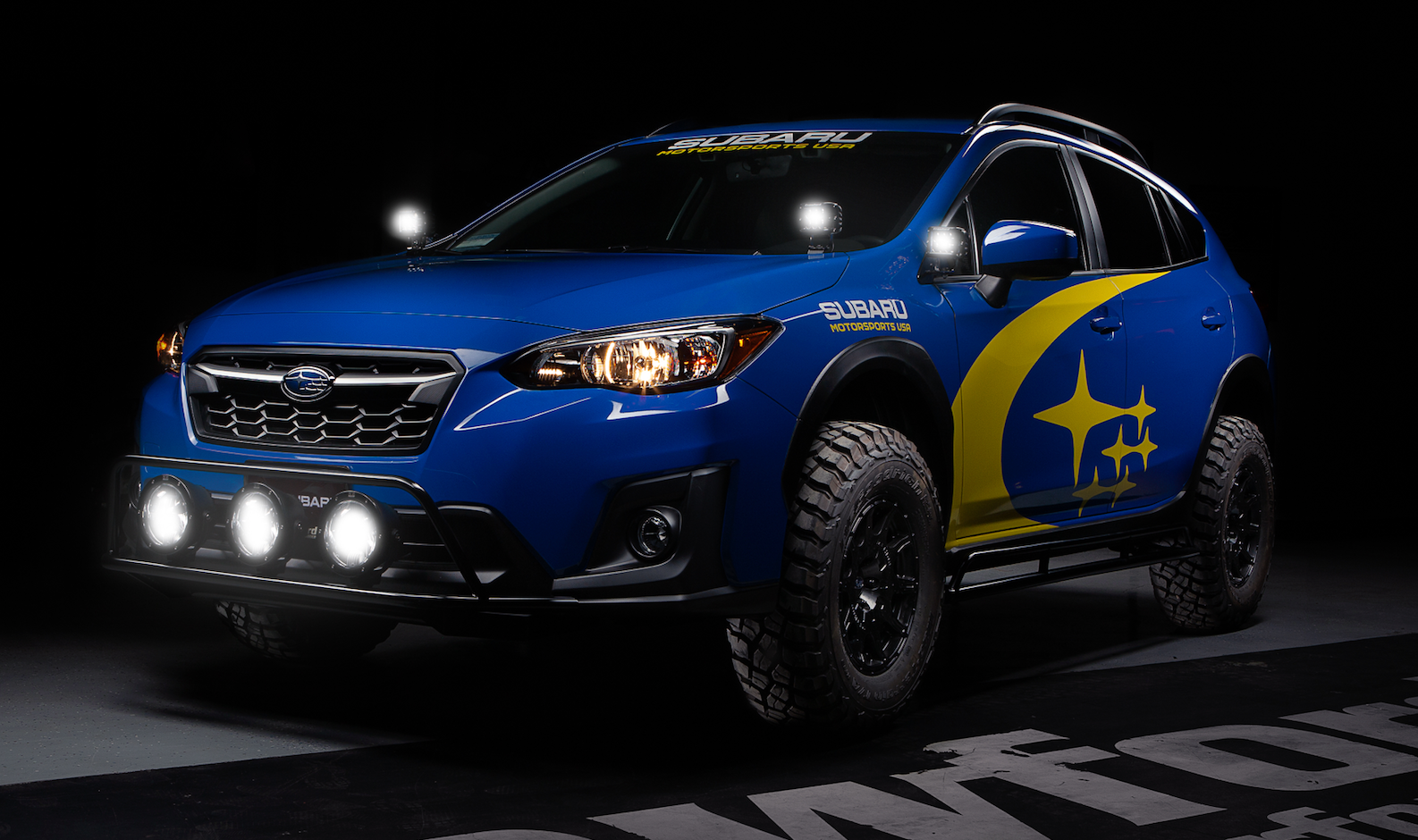 Crawford Performance Built Off-Road Subaru Crosstrek - Mirror Light Pod Kit