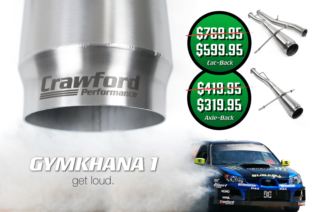 Subaru Performance Parts - Crawford Performance - WRX, STI, BRZ