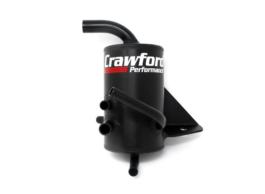 Crawford Performance Air Oil Separator (V2) - Legacy GT: 2005 - 2009 - Front View Photo