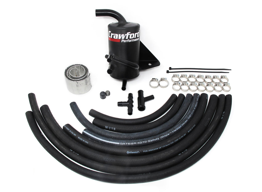 Crawford Performance Air Oil Separator (V2) - Legacy GT: 2005 - 2009 - Full Kit Photo
