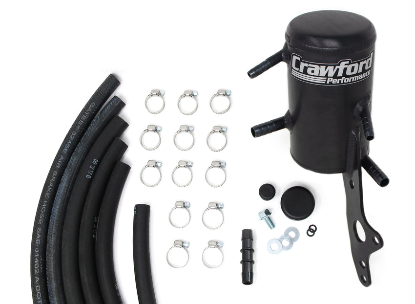 Crawford Air Oil Separator (V3) - Forester XT: 2007 - 2013 w/ TMIC - Full Kit