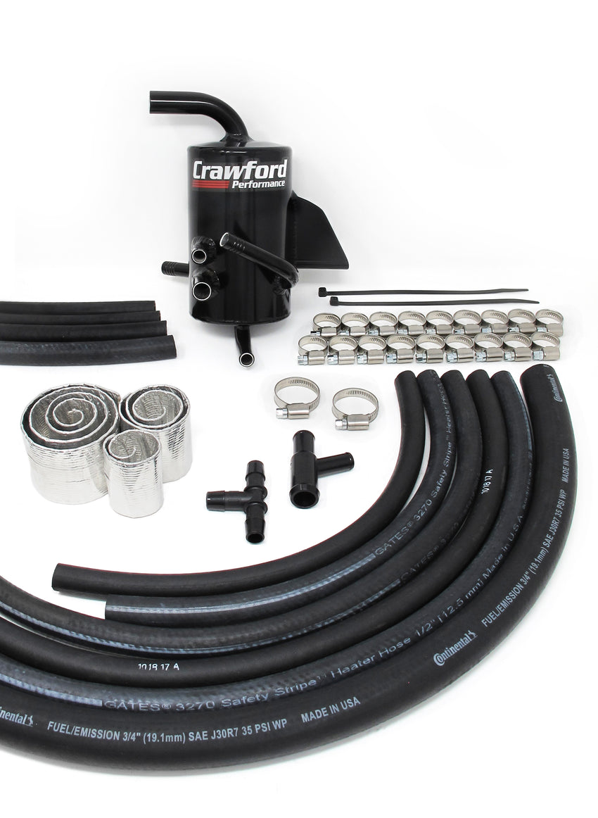 Crawford Air Oil Separator (AOS) for 2015+ Subaru STI