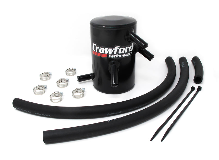 Crawford Air Oil Separator (V3) - BRZ/FRS/86: 2013+ - Full Kit