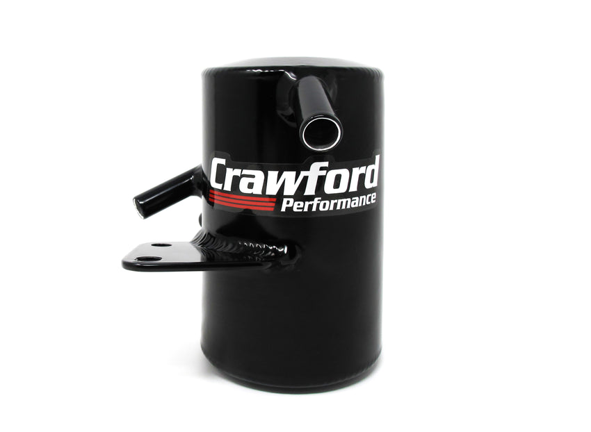 Crawford Air Oil Separator (V3) - WRX: 2015+ w/ TMIC - Front View
