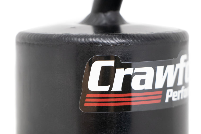 Crawford Air Oil Separator (V2) - WRX: 2008 - 2014 - Close Up of Welds