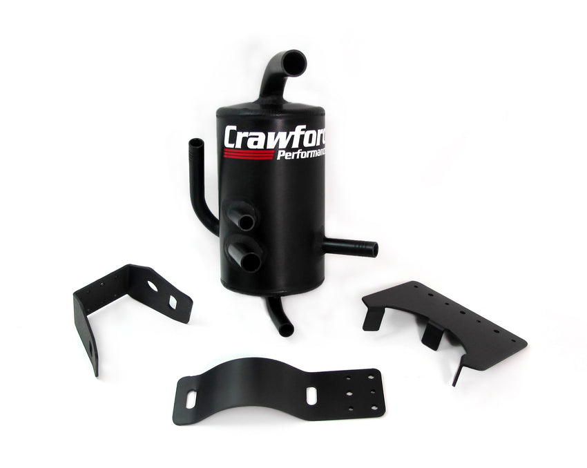 Crawford Air Oil Separator (AOS) for any subaru engine, universal fit