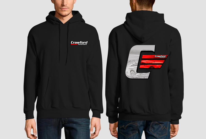Black Crawford Performance Icon Logo Sweatshirt