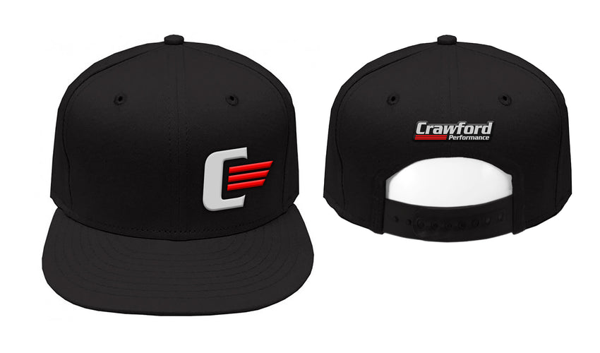Crawford Performance Snapback Hat