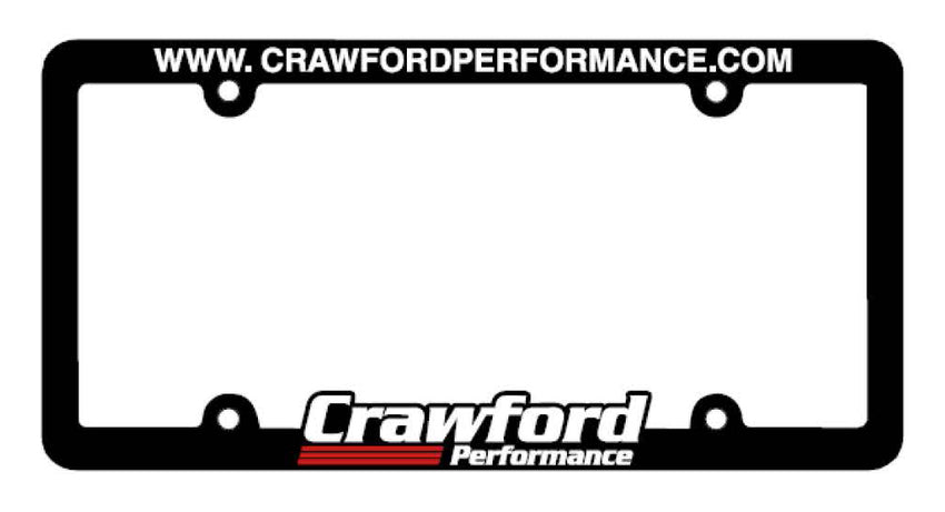 Crawford Logo License Plate Frame
