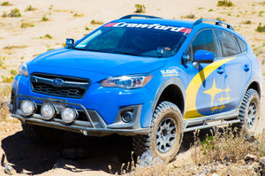 Crawford Performance Windshield Banner On Off-Road Subaru Crosstrek
