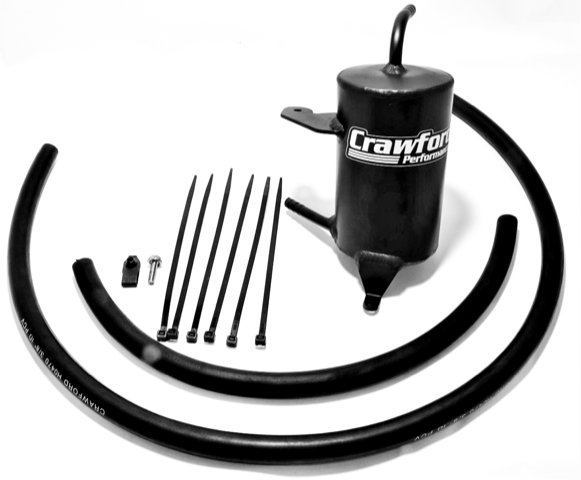 Crawford Air Oil Separator (Baja Edition) - 2011-2016 Forester 2.5i
