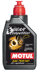 MOTUL Gear Oil: GEAR Competition 75W140 (1 LITER)