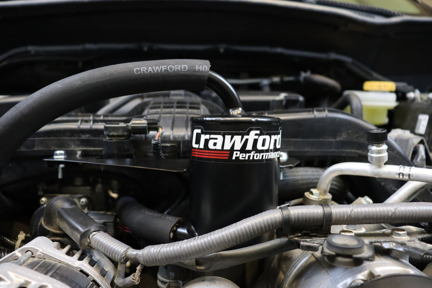 Crawford Air Oil Separator (Baja Edition) - 2019+ Forester 2.5i