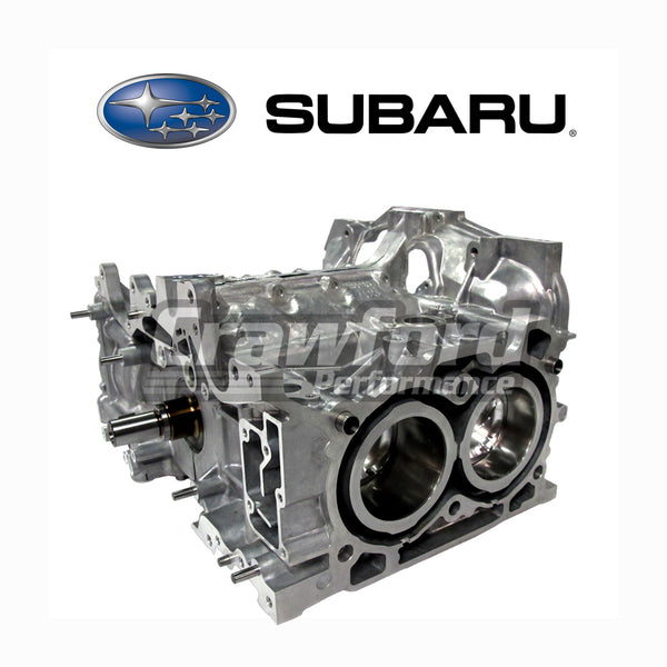 subaru oem fa dit short block engine crawford performance