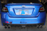 Crawford GK2 Quad Tip Cat-Back Exhaust: 2015+ Subaru WRX / STI