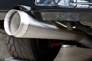 CP Gymkhana 1 Cat-Back Exhaust: 2002 - 2007 WRX/STi