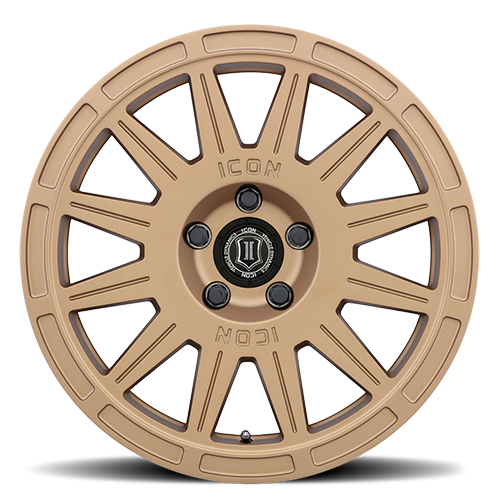 Icon Alloys Ricochet Wheel - 5x114.3 Gold Face