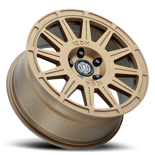 Icon Alloys Ricochet Wheel - 5x114.3 Satin Gold