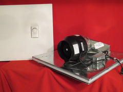 LC-6  -  335 C.F.M.- Drop Ceiling Exhaust Fan- Horizontal Exhaust-Small Server Rooms & Offices-Cools 400 Sq. Ft.