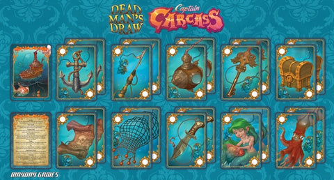 Play-mat for Captain Carcass